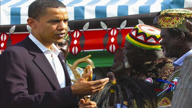 US President in Kenya in 2009