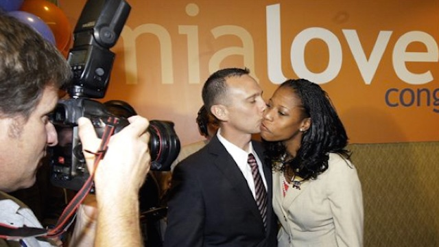 Mia Love, With Husband in Saratoga Springs, Utah, 2012