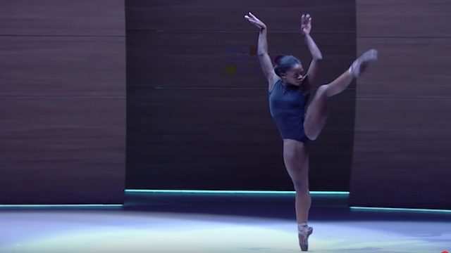 Michaela DePrince, an accomplished ballerina