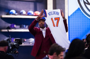 Rwandan-French Frank Ntilikina Picked by Nicks