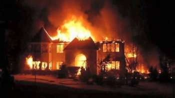 President Joseph Kabila's Private Home Housing Rwandan Special Forces Set Ablaze