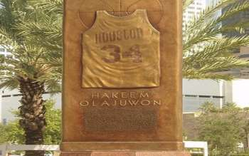 Hakeem Olajuwon, one of NBA's Greatest of All Time