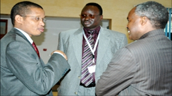 Brig. Gen. Emmanuel Ndahiro (left) cited in Panama Papers and Paradise Papers in Rwandan President Paul Kagame's Confidant