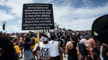Commitment March in Washington, August 28, 2020